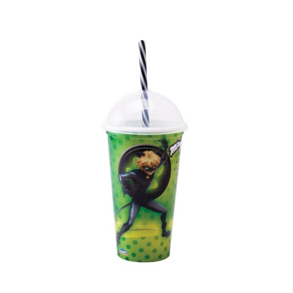Copo shake miraculous 500ml - Plasútil