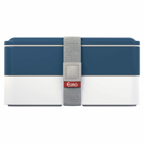 Marmita lunch box fit azul - Euro Home